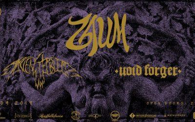 7INC prezintă  Zaum, Ancient Emblem & Void Forger live B52
