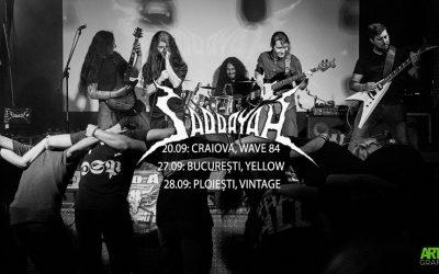 Urmatoarele concerte Saddayah – Craiova, Bucuresti si Ploiesti