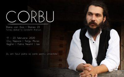 CORBU îi dedică un turneu sculptorului Constantin Brâncuși