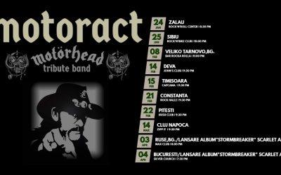 MotorACT – trupa Motorhead Tribute in turneu!