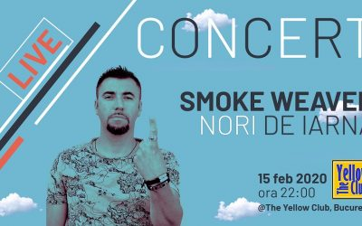 """Smoke Weaver aduce """"Nori de iarnă"""" în București"""