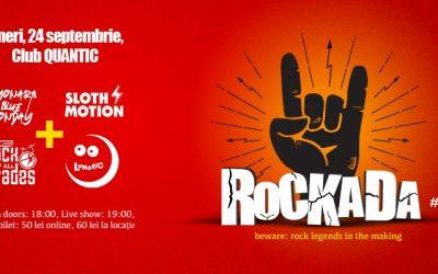 Prima ediție a festivalului ROCKADA, pe 24 septembrie, în club Quantic